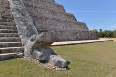 Mexico Chichen Itza Royaltyfri Bild