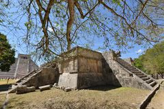 Mexico Chichen Itza Royaltyfria Foton