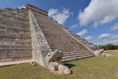Mexico, Chichen Itza Royalty Free Stock Photos