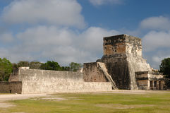 Chichen Itza Maya ruins in Mexico. Mexico, Chichen Itza ruins is the most famous and best restored of the Yucatan Maya sites. The picture presents the great ball stock image