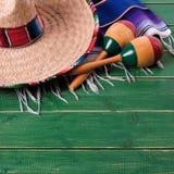 Mexico cinco de mayo background mexican sombrero square. Mexico cinco de mayo background mexican sombrero stock photo