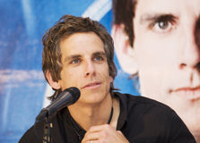 MEXICO CITY Actor Ben Stiller Royalty Free Stock Photography