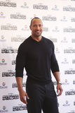 Mexico City  Actor Dwayne Johnson. Mexico City -  MArch 15th 2009 - Actor Dwayne Johnson the rock  attends Race to Witch Mountain Red Carpet Premier at Cinemex Royalty Free Stock Photos