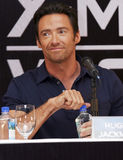 MEXICO CITY Actor Hugh Jackman. MEXICO CITY-MAY 26 2009: Actor Hugh Jackman Logan/Wolverine attends the X-MAN ORIGINS: WOLVERINE PhotoCall & Press conference at Stock Photo