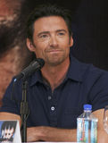 MEXICO CITY Actor Hugh Jackman Royalty Free Stock Photo