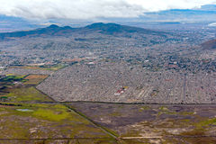 Mexico city aerial view cityscape Royalty Free Stock Photo