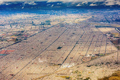 Mexico city aerial view cityscape Royalty Free Stock Image