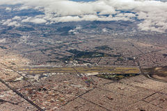 Mexico city aerial view cityscape Royalty Free Stock Photos