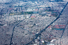 Mexico city aerial view cityscape Stock Photography