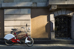 Mexico City in Bike Stock Photography