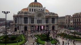 Beauty arts palace mexico Royalty Free Stock Image