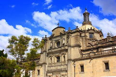Mexico city cathedral Stock Photo
