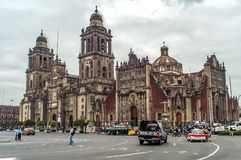 Mexico City Cathedral Stock Images