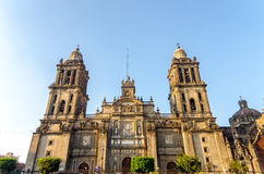 Mexico City Cathedral Royalty Free Stock Photos