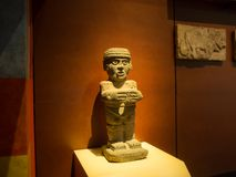 National Museum of Anthropology, ancient Aztec Mayan artifacts. Mexico City, Central America, January 2018[The National Museum of Anthropology, ancient Aztec Stock Photography
