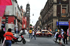 Mexico City Cityscape Royalty Free Stock Photos