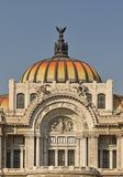 Palace of fine art in Mexico City. stock photo