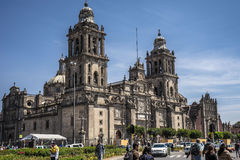 Mexico city downtown. Beautiful mexico city downtown palast Stock Image