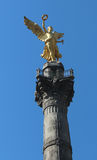 Mexico city independence angel monument Stock Photography