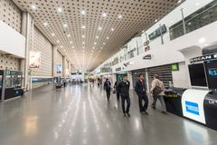 MEXICO - OCTOBER 27, 2017: Mexico City International Airport. Benito Juarez Airport. Departure Area. Mexico City International Airport. Benito Juarez Airport Stock Photo