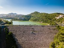 Mexico City - Madin Dam - Presa Madin. Sunny day stock photography