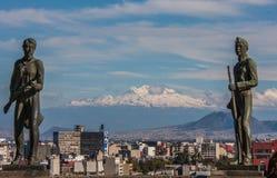 Mexico City, main Plaza Royalty Free Stock Image