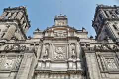 Mexico City Metropolitan Cathedral. The Metropolitan Cathedral of the Assumption of the Most Blessed Virgin Mary into Heaven Spanish: Catedral Metropolitana de Royalty Free Stock Photo