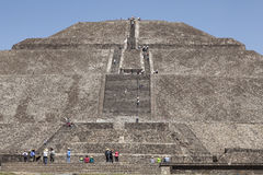 Teotihuacan Pyramids in Mexico Stock Photography