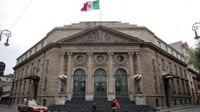 Mexico City, Mexico-June 2014: FULL SHOT, Local chamber deputies. stock video footage