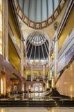 MEXICO CITY, MEXICO - OCTOBER 21, 2016: Interior of the Palacio de Bellas Artes which was planned by Federico Mariscal. Stock Photo