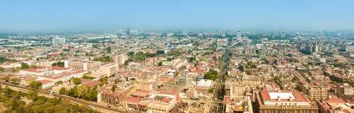 Mexico City Panorama Stock Photo
