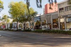 Mexico City - Polanco Streets. Masaryk street stores Mexico City - Polanco royalty free stock image