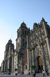 Mexico City's Cathedral. Mexico DF cathedral built in the 16th Century Stock Image