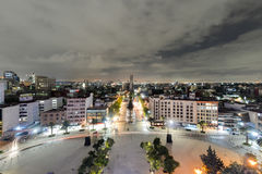 Mexico City Skyline royalty free stock images