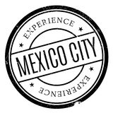 Mexico City stamp. Grunge design with dust scratches. Effects can be easily removed for a clean, crisp look. Color is easily changed Royalty Free Stock Photography