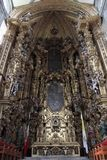 Mexico City. A view of The Altar of the Kings inside the Catedral Metropolitano on March 18, 2014 in Mexico City Stock Photo
