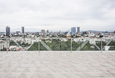 Mexico City view. Mexico City, Mexico-View of Mexico City from a building Stock Photos