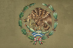 Mexico Coat of arm Stock Image
