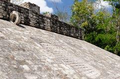 Mexico, Coba Maya ruins Stock Photography