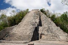 Mexico, Coba Maya ruins Stock Photos
