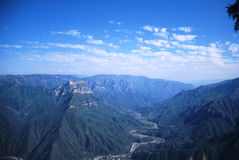 Mexico Copper Canyon. View of Mexico Copper Canyon Stock Image