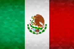 Mexico country flag of mexican nation vector illustration