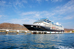 Mexico. Cruise ship at berth. Royalty Free Stock Images