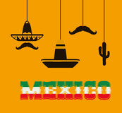 Mexico culture and landmark design Stock Photo