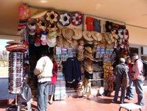 mexico De Piramides van Teotihuacan Markt van Herinneringen Stock Afbeelding