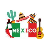 Mexico design Royalty Free Stock Image
