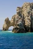 Mexico - El Arco de Cabo San Lucas Arkivfoton