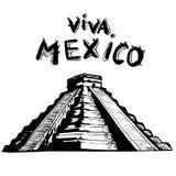 MEXICO - El Castillo, Chichen Itza Royalty Free Stock Image
