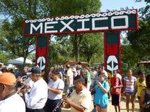 Mexico Exhibit Entrance Stock Photo