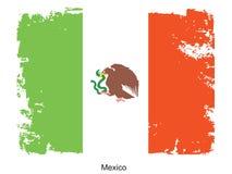 Mexico flag Royalty Free Stock Photos
